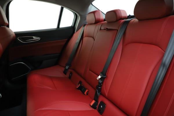 New 2020 Alfa Romeo Giulia Ti Q4 for sale $47,795 at Alfa Romeo of Westport in Westport CT 06880 18