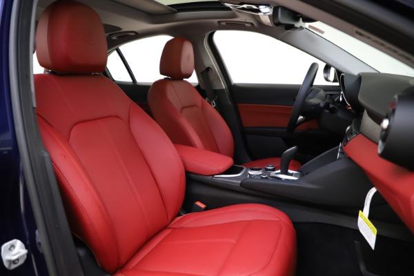New 2020 Alfa Romeo Giulia Ti Q4 for sale $47,795 at Alfa Romeo of Westport in Westport CT 06880 21