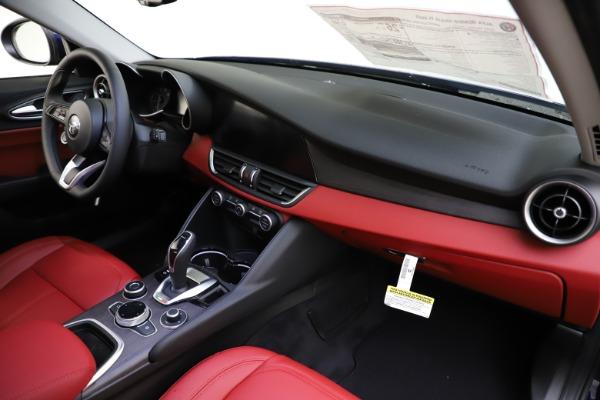 New 2020 Alfa Romeo Giulia Ti Q4 for sale $47,795 at Alfa Romeo of Westport in Westport CT 06880 23