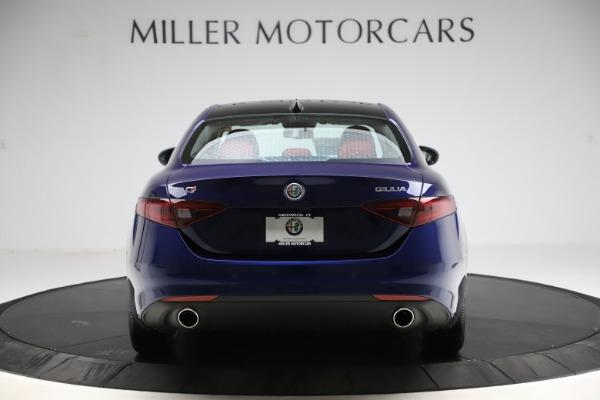 New 2020 Alfa Romeo Giulia Ti Q4 for sale $47,795 at Alfa Romeo of Westport in Westport CT 06880 6