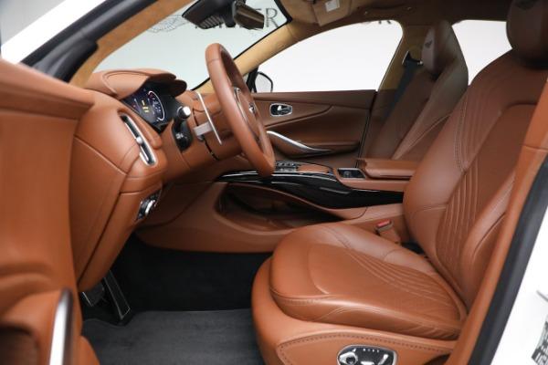 New 2021 Aston Martin DBX for sale $211,636 at Alfa Romeo of Westport in Westport CT 06880 14