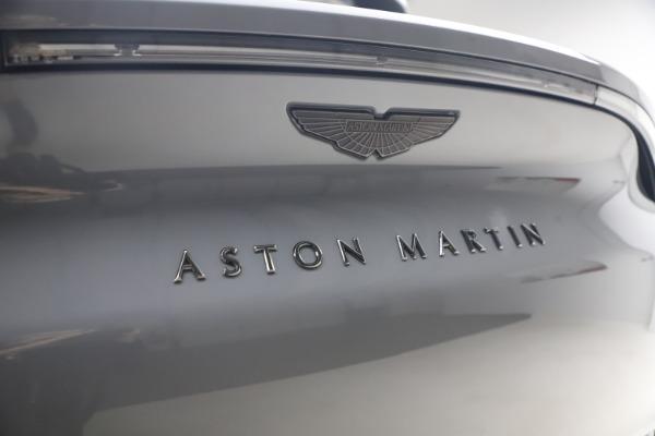 New 2021 Aston Martin DBX SUV for sale $194,486 at Alfa Romeo of Westport in Westport CT 06880 22