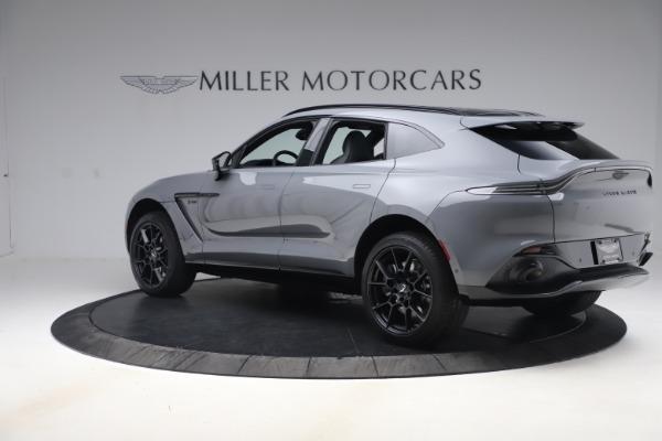 New 2021 Aston Martin DBX SUV for sale $194,486 at Alfa Romeo of Westport in Westport CT 06880 3