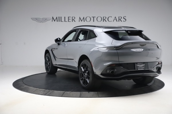 New 2021 Aston Martin DBX SUV for sale $194,486 at Alfa Romeo of Westport in Westport CT 06880 4