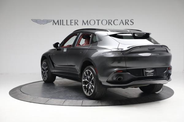 New 2021 Aston Martin DBX for sale $224,886 at Alfa Romeo of Westport in Westport CT 06880 4