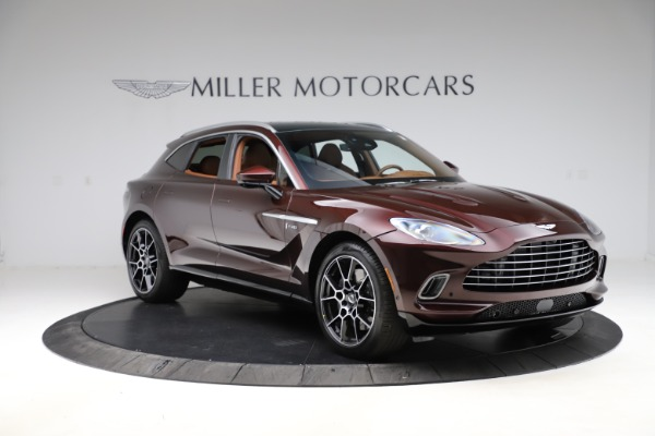 New 2021 Aston Martin DBX for sale $226,836 at Alfa Romeo of Westport in Westport CT 06880 10