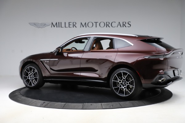 New 2021 Aston Martin DBX for sale $226,836 at Alfa Romeo of Westport in Westport CT 06880 3