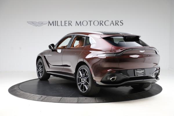 New 2021 Aston Martin DBX for sale $226,836 at Alfa Romeo of Westport in Westport CT 06880 4