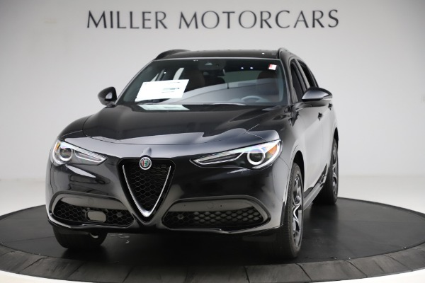 New 2020 Alfa Romeo Stelvio Ti Lusso Q4 for sale $53,995 at Alfa Romeo of Westport in Westport CT 06880 1
