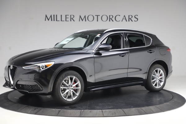 New 2020 Alfa Romeo Stelvio Ti Lusso Q4 for sale $52,695 at Alfa Romeo of Westport in Westport CT 06880 2