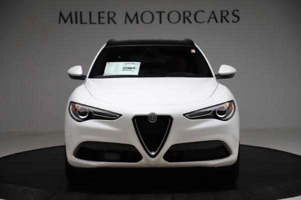 New 2020 Alfa Romeo Stelvio Ti Sport Q4 for sale Call for price at Alfa Romeo of Westport in Westport CT 06880 12