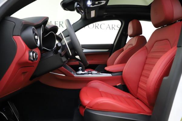 New 2020 Alfa Romeo Stelvio Ti Sport Q4 for sale Call for price at Alfa Romeo of Westport in Westport CT 06880 14
