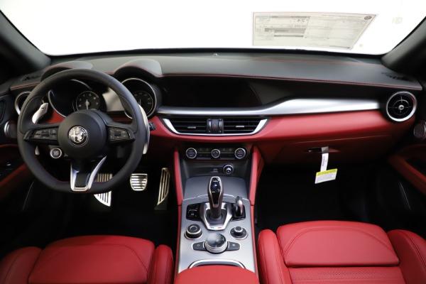 New 2020 Alfa Romeo Stelvio Ti Sport Q4 for sale Call for price at Alfa Romeo of Westport in Westport CT 06880 16