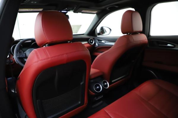 New 2020 Alfa Romeo Stelvio Ti Sport Q4 for sale Call for price at Alfa Romeo of Westport in Westport CT 06880 20