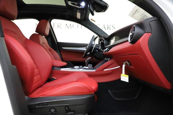 New 2020 Alfa Romeo Stelvio Ti Sport Q4 for sale Call for price at Alfa Romeo of Westport in Westport CT 06880 23