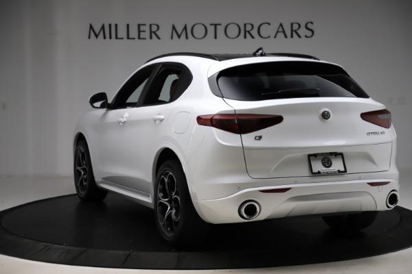 New 2020 Alfa Romeo Stelvio Ti Sport Q4 for sale Call for price at Alfa Romeo of Westport in Westport CT 06880 5