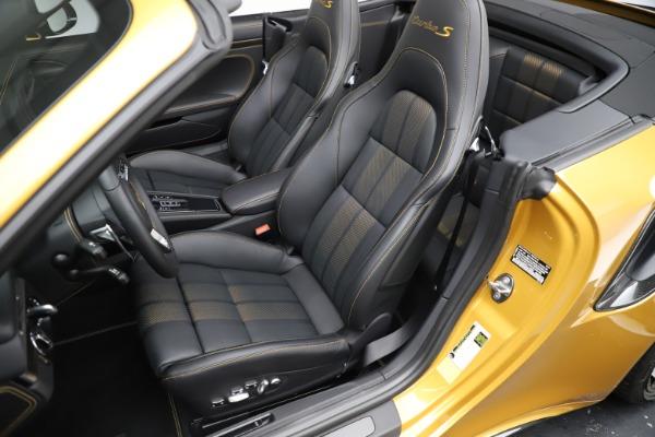 Used 2019 Porsche 911 Turbo S Exclusive for sale $249,900 at Alfa Romeo of Westport in Westport CT 06880 20