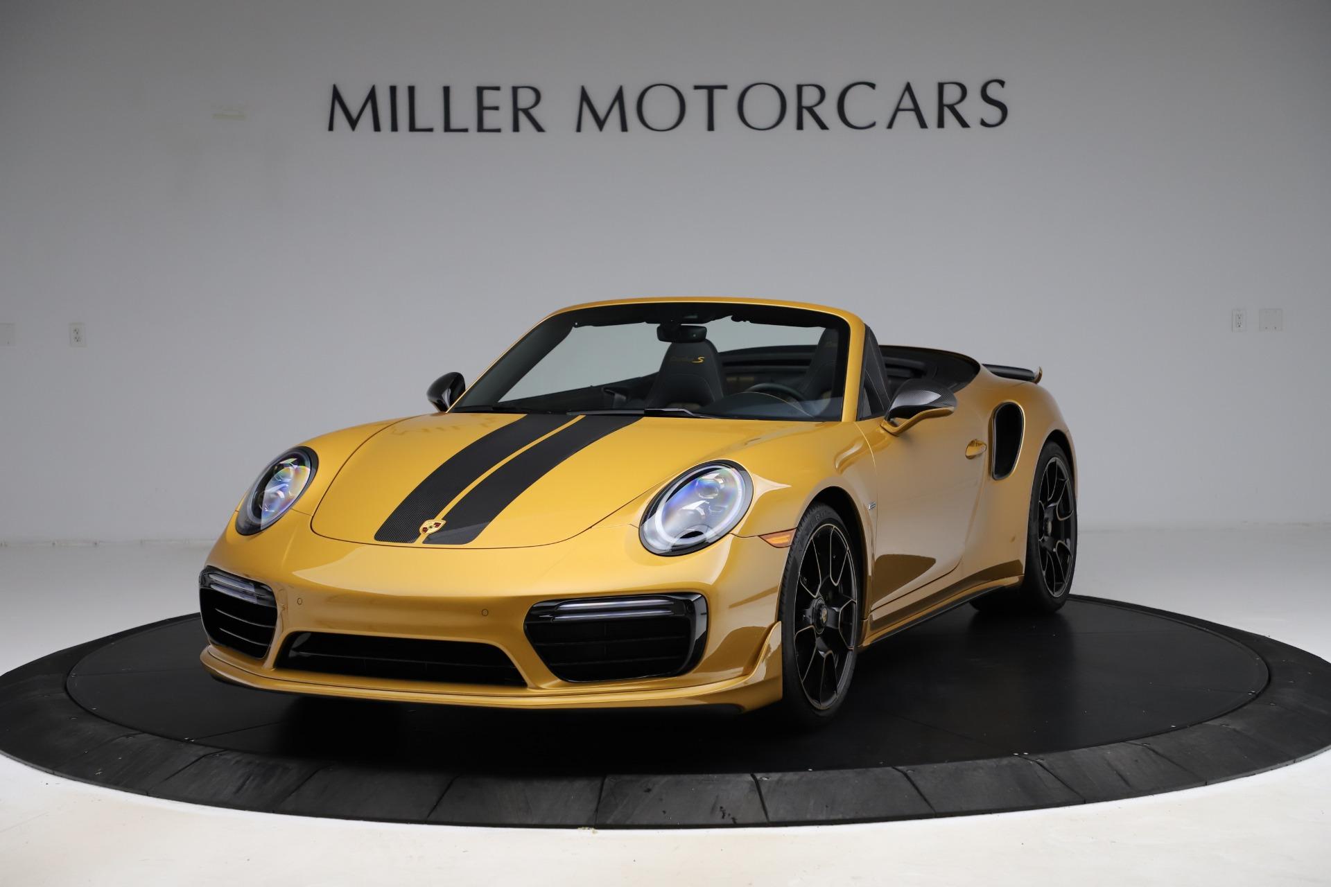 Used 2019 Porsche 911 Turbo S Exclusive for sale $249,900 at Alfa Romeo of Westport in Westport CT 06880 1