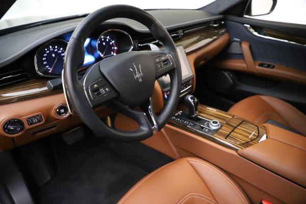 Used 2017 Maserati Quattroporte S Q4 GranLusso for sale Sold at Alfa Romeo of Westport in Westport CT 06880 13