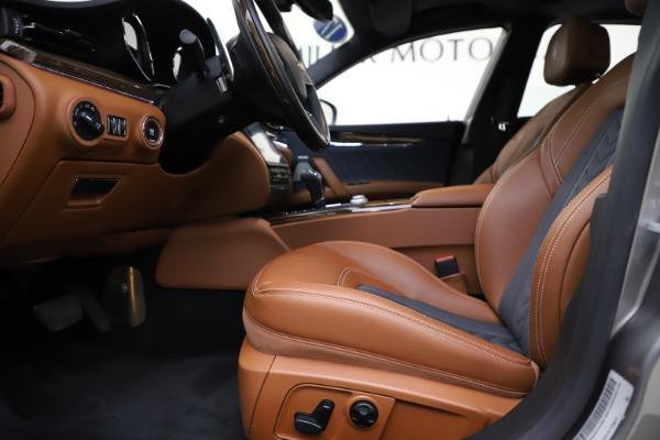 Used 2017 Maserati Quattroporte S Q4 GranLusso for sale Sold at Alfa Romeo of Westport in Westport CT 06880 14