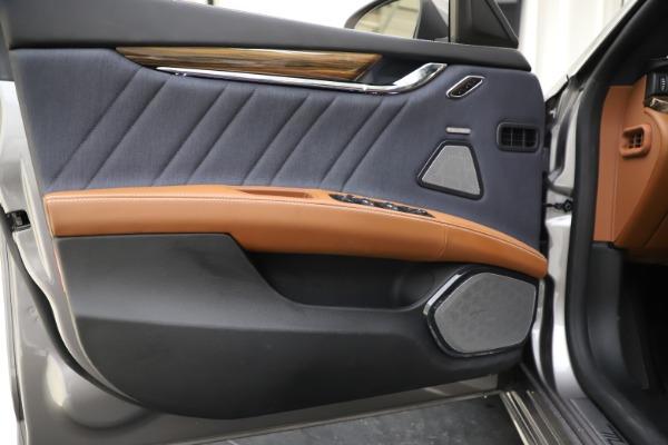 Used 2017 Maserati Quattroporte S Q4 GranLusso for sale Sold at Alfa Romeo of Westport in Westport CT 06880 17