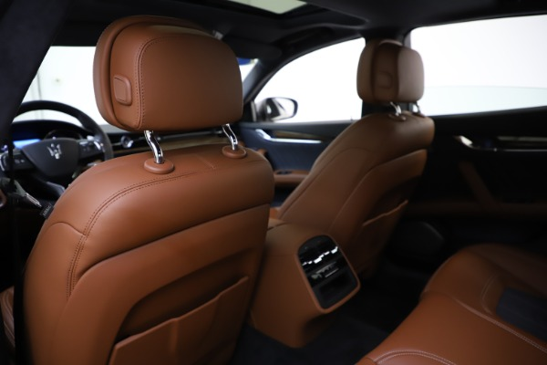 Used 2017 Maserati Quattroporte S Q4 GranLusso for sale Sold at Alfa Romeo of Westport in Westport CT 06880 20