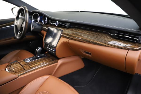 Used 2017 Maserati Quattroporte S Q4 GranLusso for sale Sold at Alfa Romeo of Westport in Westport CT 06880 22