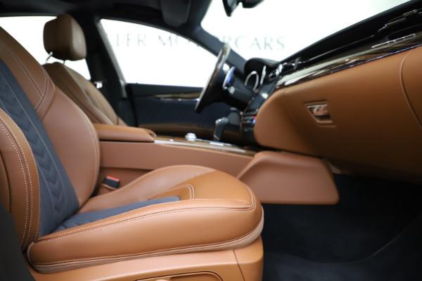 Used 2017 Maserati Quattroporte S Q4 GranLusso for sale Sold at Alfa Romeo of Westport in Westport CT 06880 23