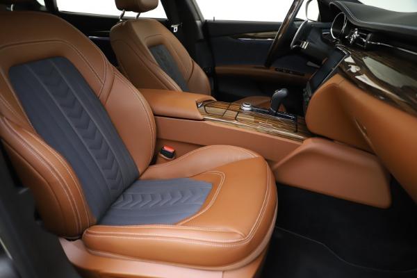 Used 2017 Maserati Quattroporte S Q4 GranLusso for sale Sold at Alfa Romeo of Westport in Westport CT 06880 24