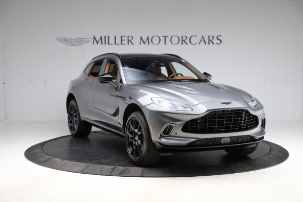 New 2021 Aston Martin DBX SUV for sale $229,486 at Alfa Romeo of Westport in Westport CT 06880 10