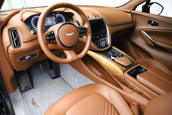 New 2021 Aston Martin DBX SUV for sale $229,486 at Alfa Romeo of Westport in Westport CT 06880 13