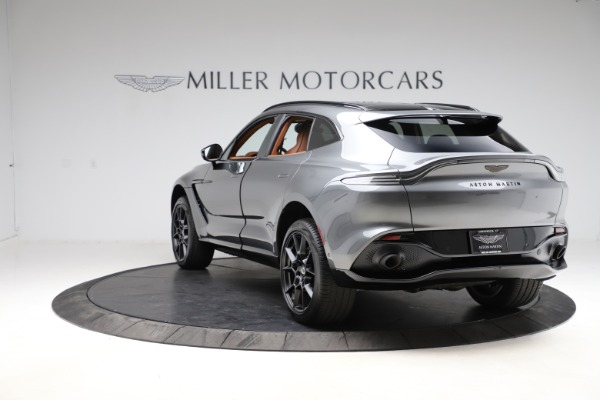 New 2021 Aston Martin DBX SUV for sale $229,486 at Alfa Romeo of Westport in Westport CT 06880 4