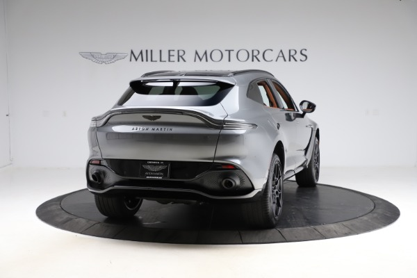 New 2021 Aston Martin DBX SUV for sale $229,486 at Alfa Romeo of Westport in Westport CT 06880 6