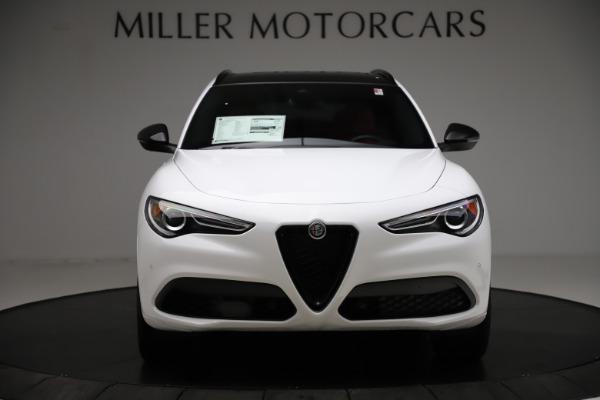 New 2020 Alfa Romeo Stelvio Ti Sport Q4 for sale $53,445 at Alfa Romeo of Westport in Westport CT 06880 12