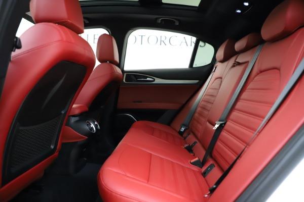 New 2020 Alfa Romeo Stelvio Ti Sport Q4 for sale $53,445 at Alfa Romeo of Westport in Westport CT 06880 19