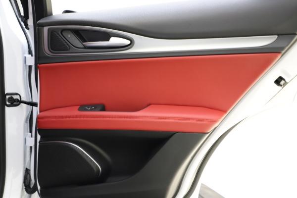 New 2020 Alfa Romeo Stelvio Ti Sport Q4 for sale $53,445 at Alfa Romeo of Westport in Westport CT 06880 28