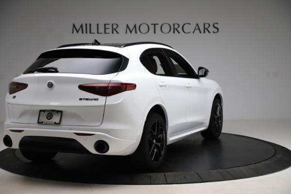 New 2020 Alfa Romeo Stelvio Ti Sport Q4 for sale $53,445 at Alfa Romeo of Westport in Westport CT 06880 7