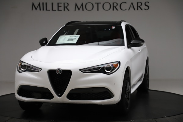 New 2020 Alfa Romeo Stelvio Ti Sport Q4 for sale $53,445 at Alfa Romeo of Westport in Westport CT 06880 1