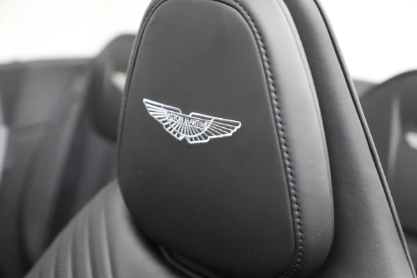 New 2021 Aston Martin DB11 Volante Convertible for sale $254,416 at Alfa Romeo of Westport in Westport CT 06880 23