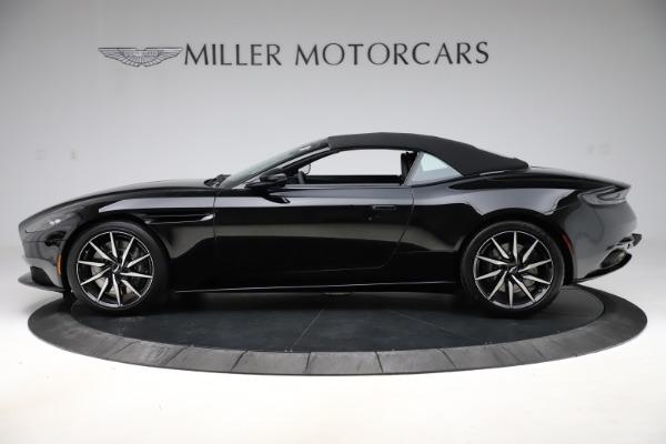 New 2021 Aston Martin DB11 Volante Convertible for sale $254,416 at Alfa Romeo of Westport in Westport CT 06880 25
