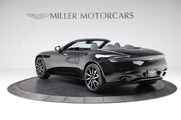 New 2021 Aston Martin DB11 Volante Convertible for sale $254,416 at Alfa Romeo of Westport in Westport CT 06880 4
