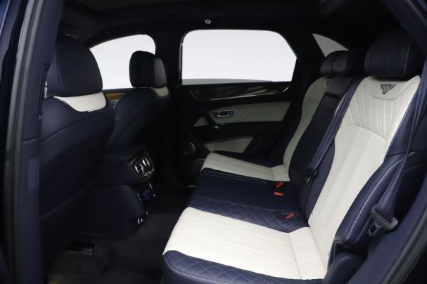 Used 2018 Bentley Bentayga W12 Signature Edition for sale $149,900 at Alfa Romeo of Westport in Westport CT 06880 21