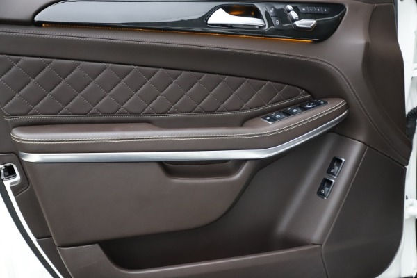 Used 2018 Mercedes-Benz GLS 550 for sale $67,900 at Alfa Romeo of Westport in Westport CT 06880 15