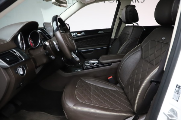 Used 2018 Mercedes-Benz GLS 550 for sale $67,900 at Alfa Romeo of Westport in Westport CT 06880 17