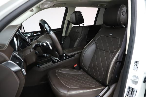 Used 2018 Mercedes-Benz GLS 550 for sale $67,900 at Alfa Romeo of Westport in Westport CT 06880 18