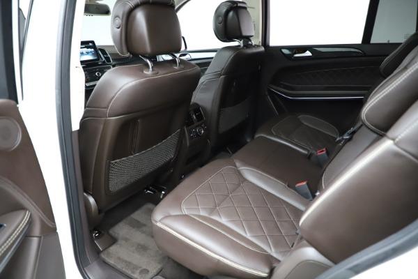 Used 2018 Mercedes-Benz GLS 550 for sale $67,900 at Alfa Romeo of Westport in Westport CT 06880 19