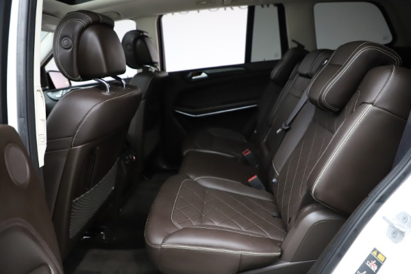 Used 2018 Mercedes-Benz GLS 550 for sale $67,900 at Alfa Romeo of Westport in Westport CT 06880 20
