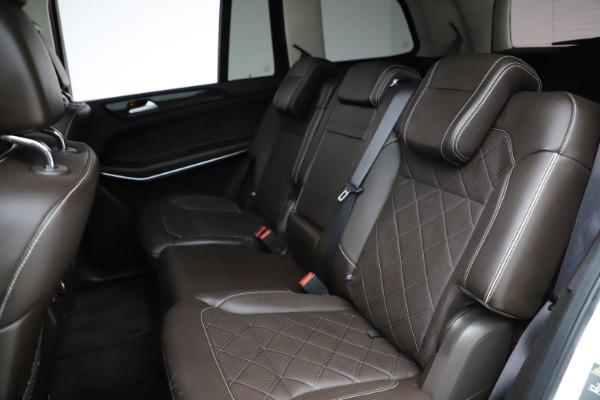 Used 2018 Mercedes-Benz GLS 550 for sale $67,900 at Alfa Romeo of Westport in Westport CT 06880 21