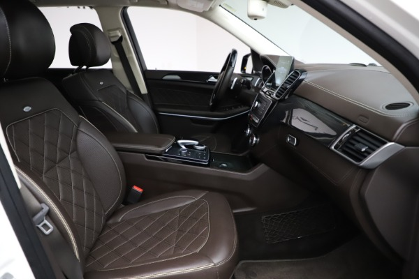Used 2018 Mercedes-Benz GLS 550 for sale $67,900 at Alfa Romeo of Westport in Westport CT 06880 25