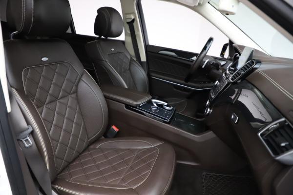 Used 2018 Mercedes-Benz GLS 550 for sale $67,900 at Alfa Romeo of Westport in Westport CT 06880 26